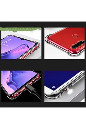 Telefon Aksesuarları A31 Nitro Anti Shock Silikon Kılıf 4