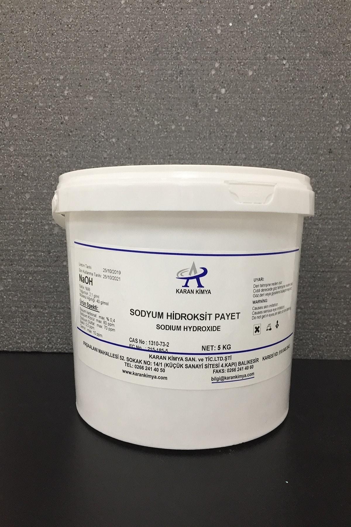 Payet Kostik (Sodyum Hidroksit) 3 kg