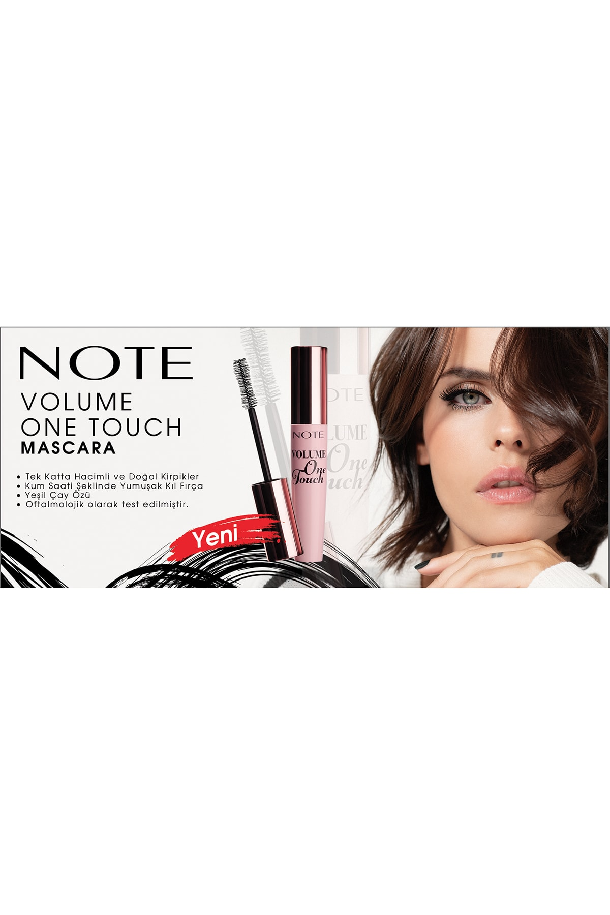 Note Cosmetics One Touch Mascara 1