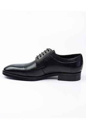 MARCOMEN 10005 Siyah Deri Jurdan Klasik Erkek Ayakkabı Siyah-40 2