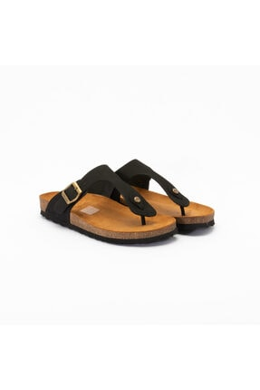 Frau Kadın Günlük Ayakkabı 5851 Nabuk-v Nero 1