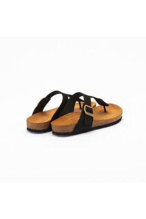 Frau Kadın Günlük Ayakkabı 5851 Nabuk-v Nero 2