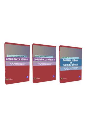 İstanbul Tıp Kitabevi Doğum Öncesi Dönem I + II + Normal Doğum Ve Sonrası Dönem 3'lü Set 0