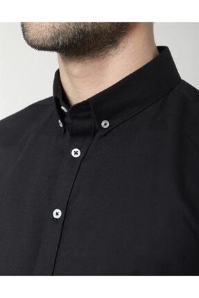 Tudors Erkek Slim Fit Likralı Spor Gömlek 3