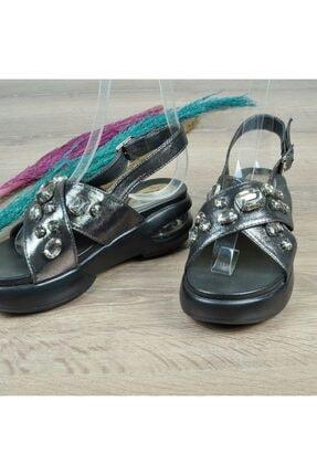 Guja 416 Kadın Taşlı Sandalet 1