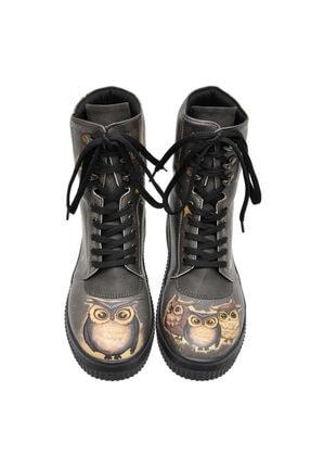 Dogo Owl Family Future Bootskadın Uzun Bot 1