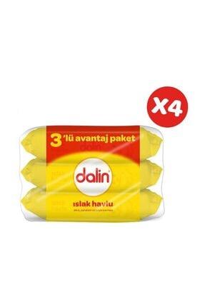 Dalin Islak Temizleme Mendili 56lı (3 lü Paket) x 4 Adet 0