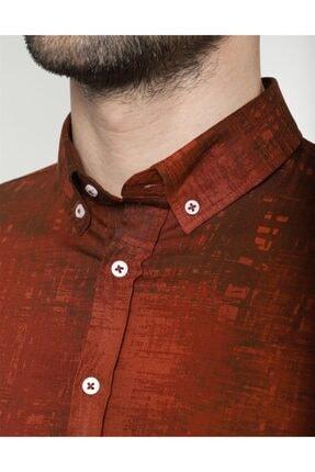 Tudors Slim Fit Likralı Spor Gömlek 3