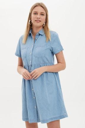 Defacto Kadın Mavi Jean Elbise K7242AZ.20SM.NM39 1