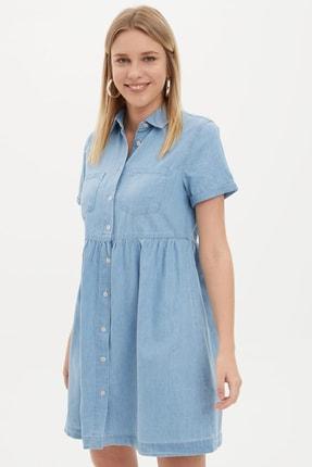 Defacto Kadın Mavi Jean Elbise K7242AZ.20SM.NM39 2