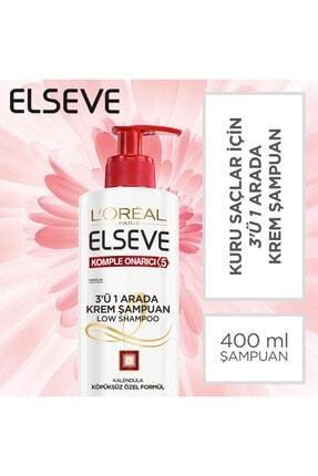 Elseve Komple Onarıcı 5 3'ü 1 Arada Low Shampoo Krem Şampuan 3600523585281 0