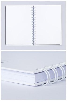 Mespho Her Anın Tadını Çıkar Yazılı A4 Ebat Spiralli Sert Kapak Defter (21 x 29,7 cm.) 1