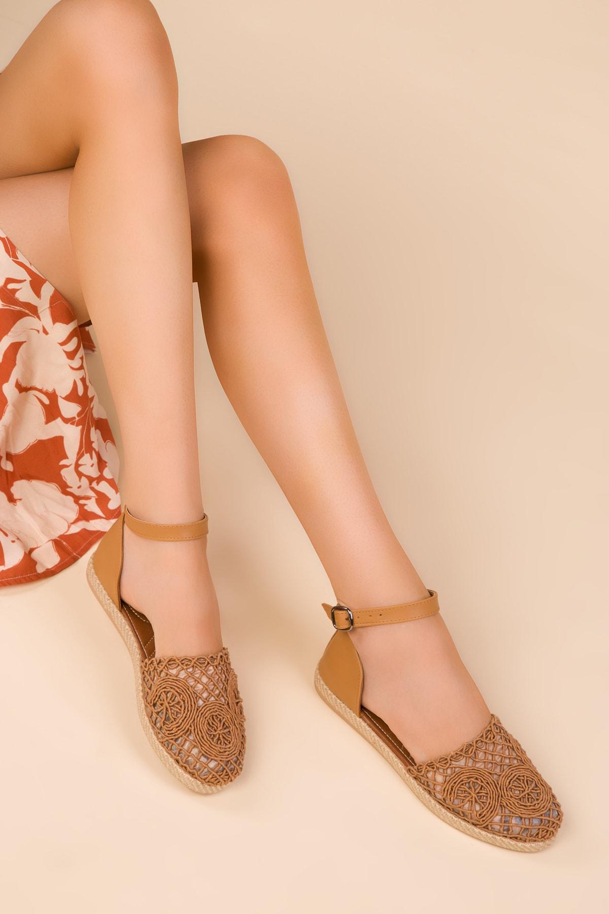 Camel Kadın Sandalet 15046