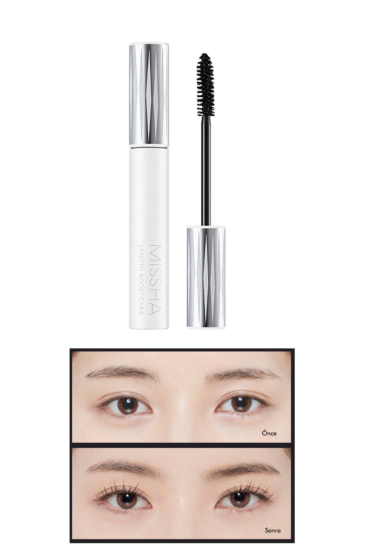Missha Kısa Kirpikler için Uzunluk Sağlayan Maskara 8.5g MISSHA Lenght Boost Mascara 0