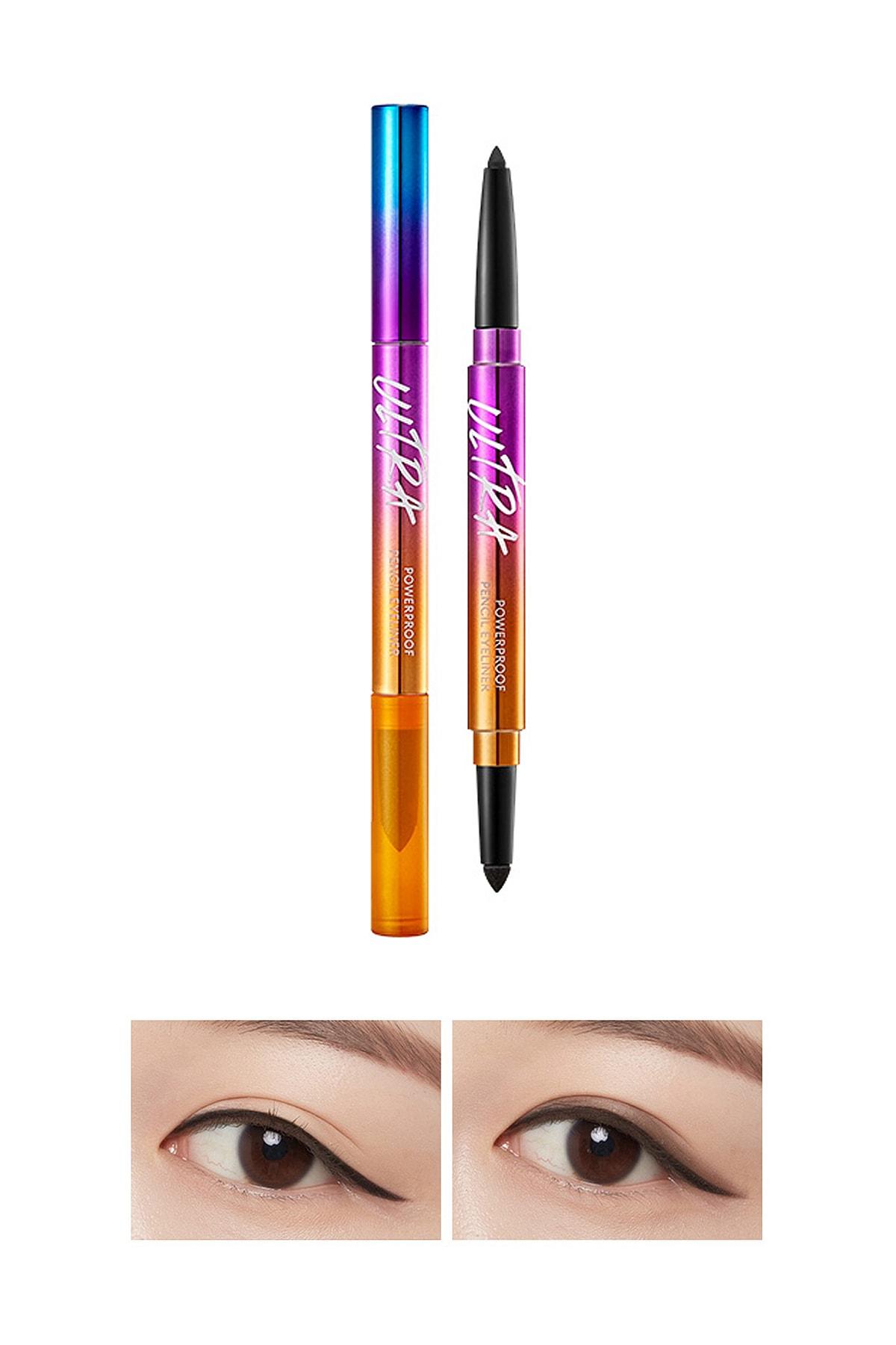 Missha Kalıcı Suya Dayanıklı Jel Göz Kalemi - Ultra Powerproof Pencil Eyeliner Black 8809643506175 0