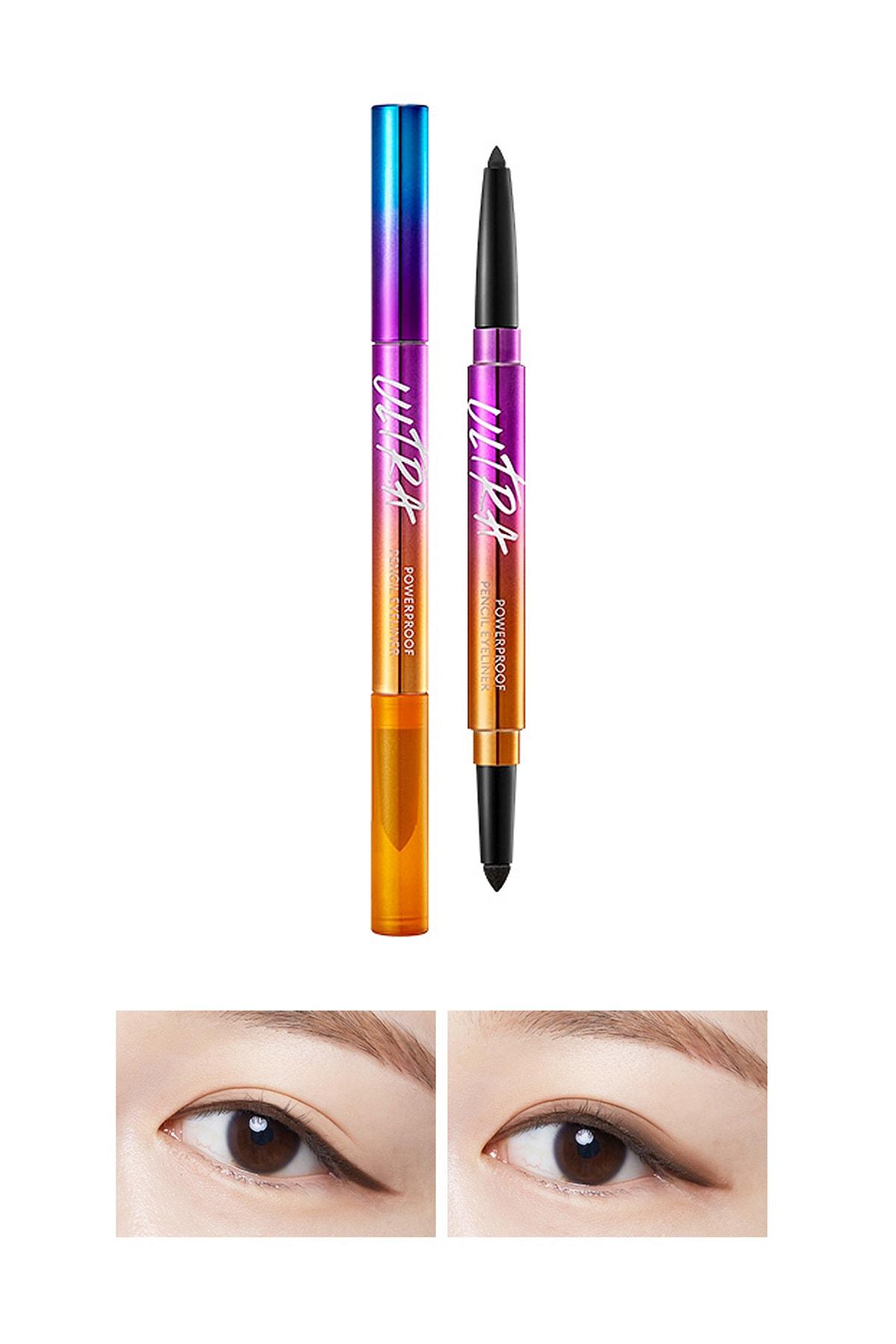 Missha Kalıcı Suya Dayanıklı Jel Göz Kalemi MISSHA Ultra Powerproof Pencil Eyeliner [Brown] 8809643506182 0