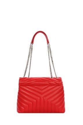 Cengiz Pakel Kadın Çanta Serenity 7266s-kırmızı 3