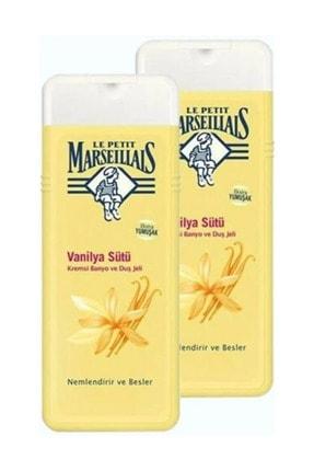 Le Petit Marseillais Duş Jeli Vanilya Sütü 400 ml  x 2 0