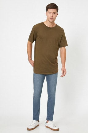 Erkek Gri Jeans 1KAM43236LD
