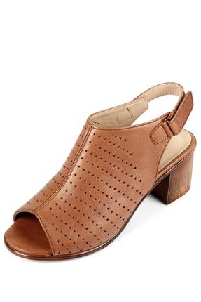 GÖNDERİ(R) Gön Hakiki Deri Kadın Sandalet 45627 2