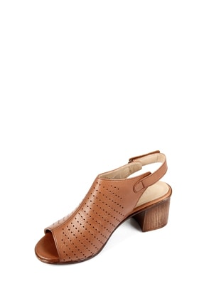 GÖNDERİ(R) Gön Hakiki Deri Kadın Sandalet 45627 4