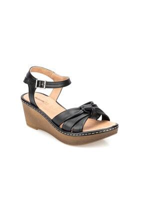 Polaris 91.155751.Z Siyah Kadın Sandalet 100374828 0