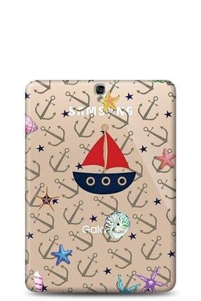 Eiroo Samsung T820 Galaxy Tab S3 9.7 Sailboat Kılıf 0
