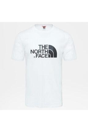The North Face Erkek Beyaz Sıfır Yaka Tişört 3