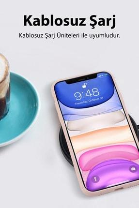 sepetzy Apple Iphone Xs Kılıf Pastel Içi Kadife Liquid Candy Flat Kapak - Siyah 1