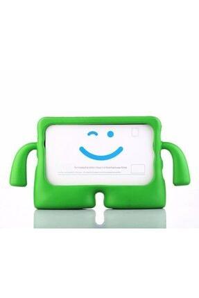 Zipax Apple Ipad Pro 10.5 Kılıf Çocuklar Için Kollu Silikon - Yeşil 0