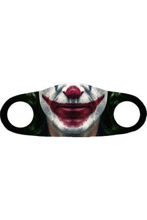 Angelino Moda Maske Joker Baskı No 22 Yıkanabilir Yetişkin Yüz Maskesi 0