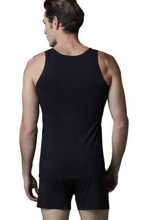 Erkek Siyah Modal Atlet 2'li Ers020 T2575