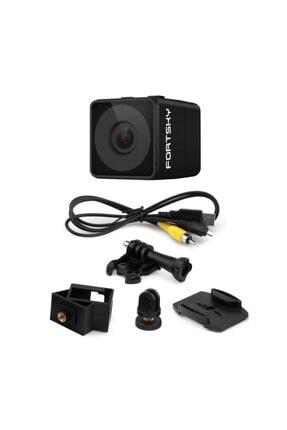 Fs Fpv Mikro Eylem Kamera 160° Hd 1080p Dvr Dahili Mikrofon W/kablo 2