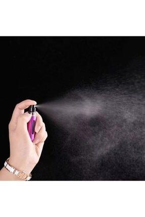 Kyrotech Cep Parfüm Şişesi Cep Parfüm Atomizer Seyahat Parfüm Şişesi Cep Parfümü Cep Kolonya Şişesi 5 Ml 4