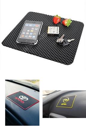 AutoFresh Fiat Grande Punto Uyumlu Toprido Pedi Araza Özel Logolu Telefon Mp3 Tablet Kaydırmaz 0