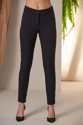 Rmg Kadın Lacivert Lacivert Kumaş Pantolon 1538 1