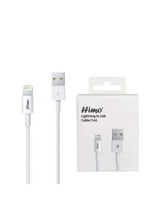 Teknoloji Adım Orjinal Himo 8 Pin Iphone Ipad Ipod Uyumlu Lightning Şarj Kablosu 1 Metre 1