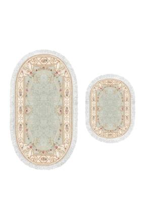 Alanur Home Dekoreko Dijital Saçaklı Oval Klozet Takımı 1800 Desen 4 1
