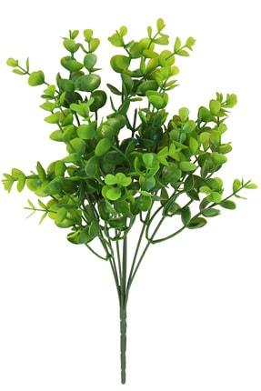 Yapay Çiçek Deposu 7 Dallı Yeşillik Şimşir Demeti 35 cm Yeşil 0