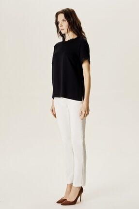 Naramaxx Kadın Siyah Dantelli Bluz 2