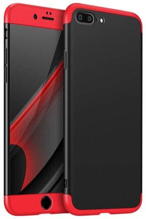 Apple Iphone 7 Plus Kılıf 360 Tam Koruma Kapak 3 Parça Slim Fit 0