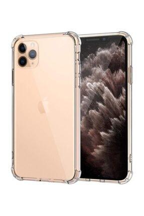 Apple Iphone 11 Pro Max (6.5'') Kılıf, (+ Ekran Koruyucu) Shock Absorbing Şeffaf 1