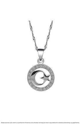 Çağrı Gümüş Gümüş Ayyıldız Temalı Üçlü Set Takı 1