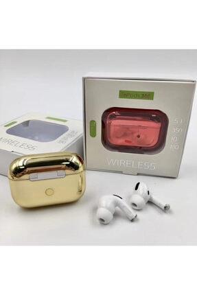 LETANG Airpods Pro Bluetooth 5.0 Kulaklık Apple Iphone Android Uyumlu Bluetooth Kulaklık-gold 3