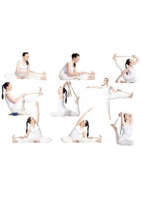 Svava Yoga Kemeri, Organik Pamuk Yoga Kayışı (boyasız) 3