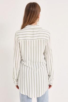 Home Store Kadın Haki Gömlek 20230003072 2