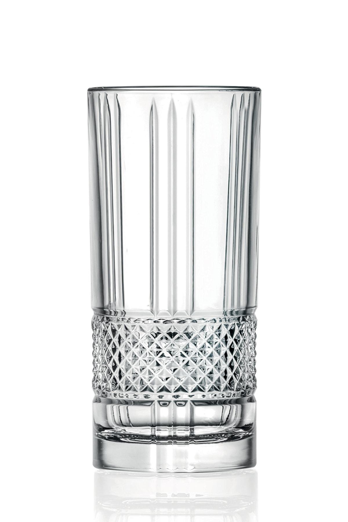 Rcr Brillante Long Drink Meşrubat Bardağı 370 Ml - 6'lı