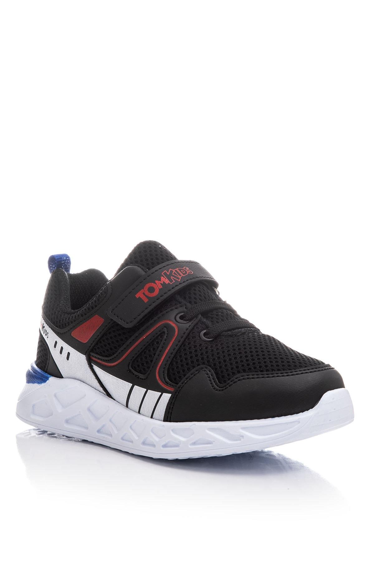 Tonny Black Erkek Çocuk Siyah Çocuk Spor Ayakkabı TB3401-3 1