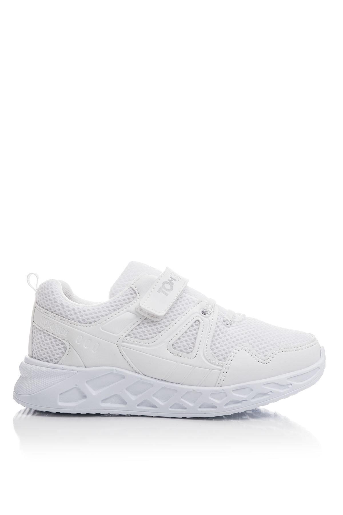 Tonny Black Unisex Çocuk Beyaz Spor Ayakkabı TB3401-3 2