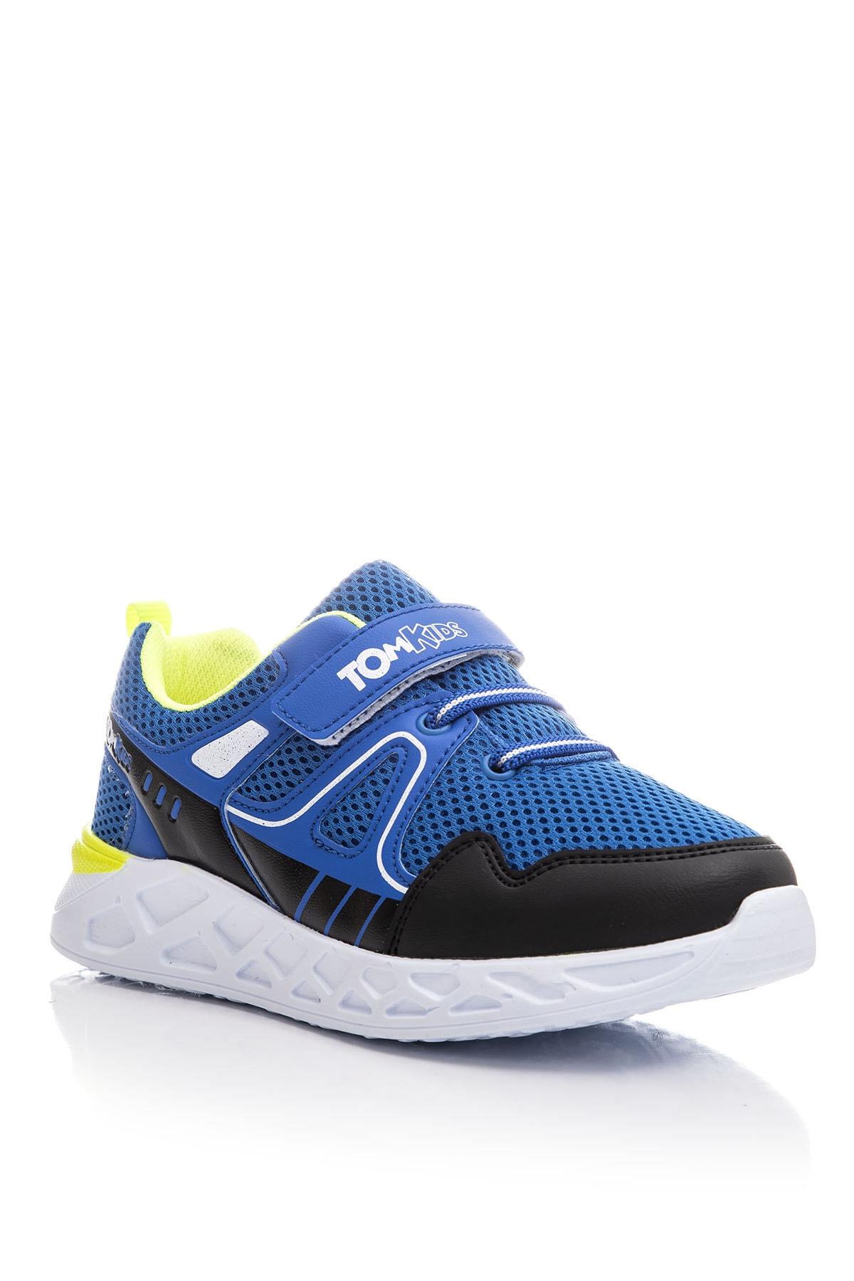 Tonny Black Erkek Çocuk Mavi Spor Ayakkabı TB3401-3 0